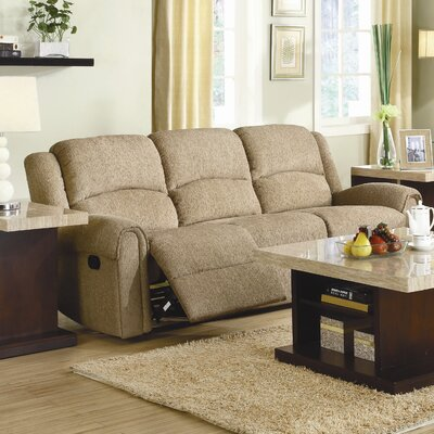 Esther Chenille Reclining Sofa