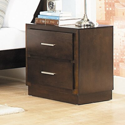 Vernada 2 Drawer Nightstand