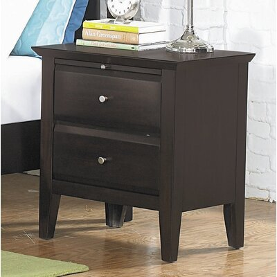 Verano 2 Drawer Nightstand