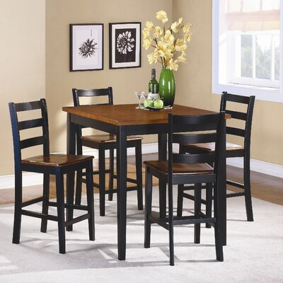 Lynn 5 Piece Counter Height Dining Set
