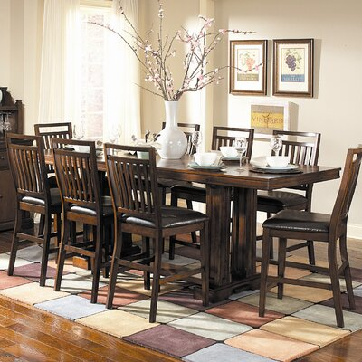 Woodbridge Home Designs Everett 9 Piece Counter Height Dining Set