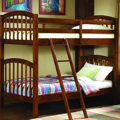 Woodbridge Home Designs B29 Series Twin over Twin Bunk Bed