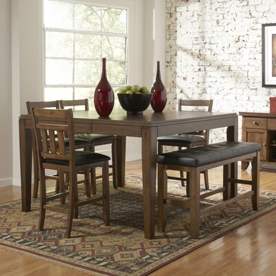 Kirtland 6 Piece Counter Height Dining Set