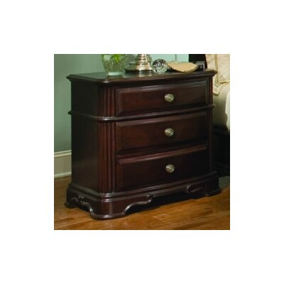 858 Series 3 Drawer Nightstand