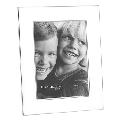 Reed & Barton Wide Border Pewter Picture Frame