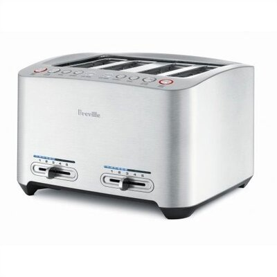Die-Cast 4-Slice Smart Toaster