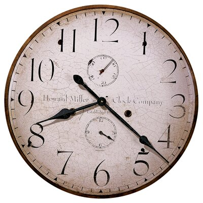 Howard Miller® Original Howard Miller V Wall Clock