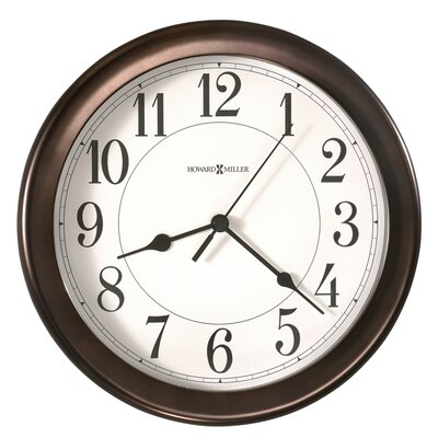 Howard Miller® Virgo Quartz Wall Clock