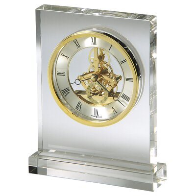Prestige Crystal Tabletop Clock