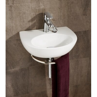 HIB Roccanova Washbasin in White