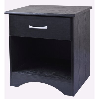 Bedroom Essentials 1 Drawer Nightstand