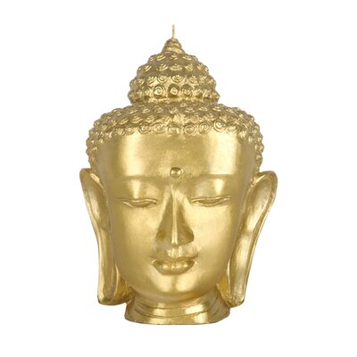 Blissliving Home Contemporary Buddha Head Novelty Candle