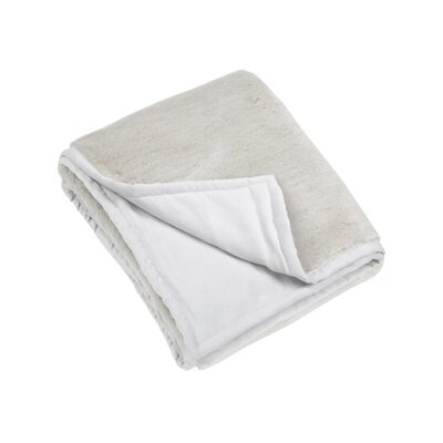 Blissliving Home Perla Throw in Silver Gray