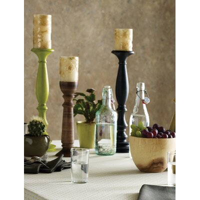 Blissliving Home Dimas Wood Candlestick