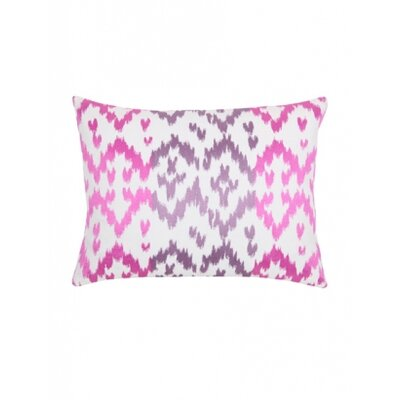 Blissliving Home Ikat Orchid Pillow