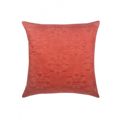 Blissliving Home Nirvana Euro Sham in Coral