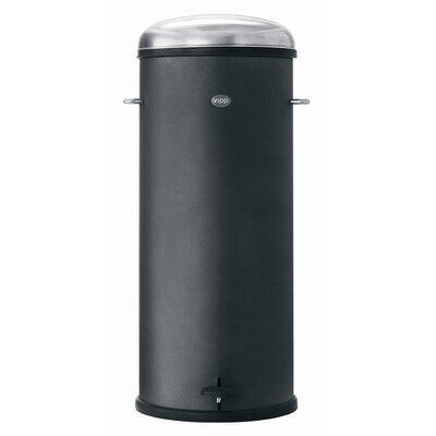 VIPP Black Line 8 Gallon Pedal Bin
