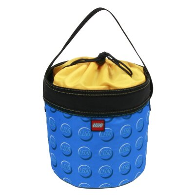 LEGO Luggage Small Cinch Bucket in Blue