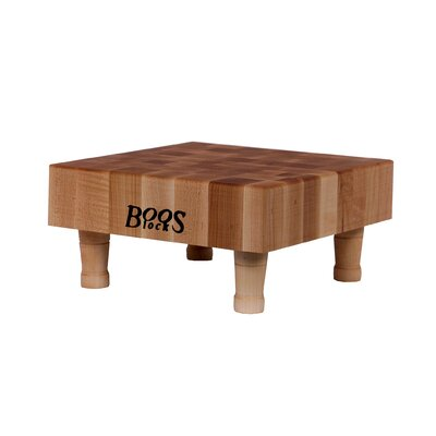 "John Boos BoosBlock 3"" Thick Square Mini Butcher Block"