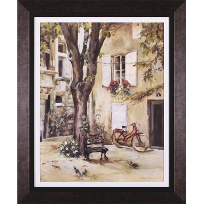 Art Effects Provence Village I Framed Artwork