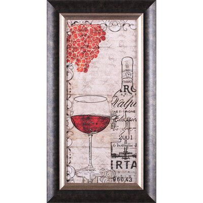 Art Effects Vintage Reds Framed Artwork