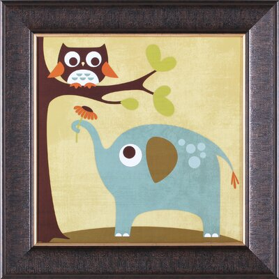 Art Effects ''Owl and Elephant'' Wall Art