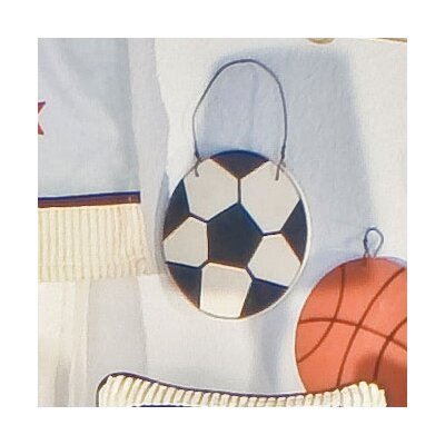 All Star Soccer Ball Wall Hanging