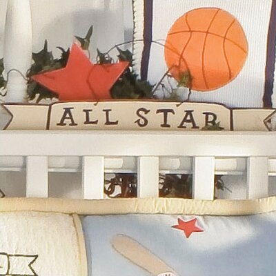 All Star Sign Wall Hanging