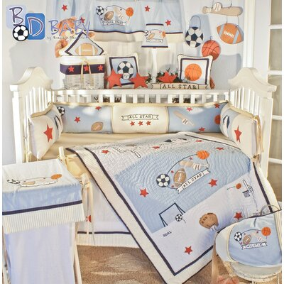 All Star 18 Piece Crib Bedding Set