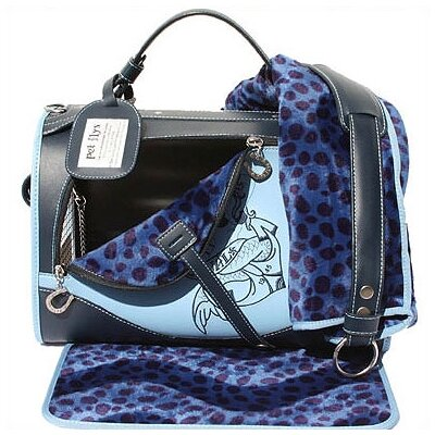 Pet Flys Sailor Blue Pet Carrier