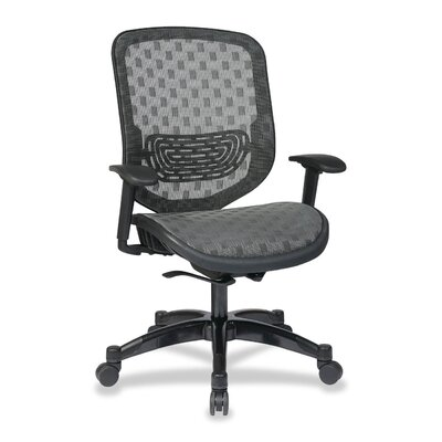 OSP Furniture DuraGrid Seat and Back Chair