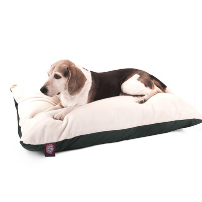 Majestic Pet Products Rectangular Pillow Dog Bed