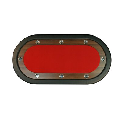 BBO Poker UPT Junior Eight Player Poker Table in Red