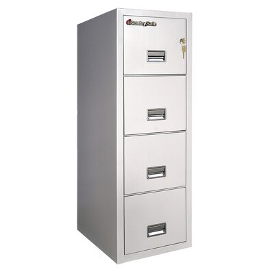 Sentry Safe 2 Hr Fireproof Key Lock 4 Drawer Letter File Safe