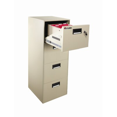 Sentry Safe 1 Hr Fireproof Key Lock 4 Drawer File Safe