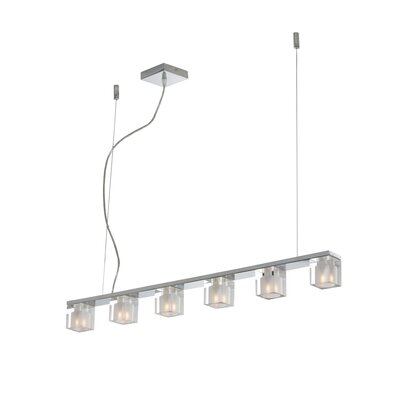 ET2 Blocs 6 Light Kitchen Island Pendant