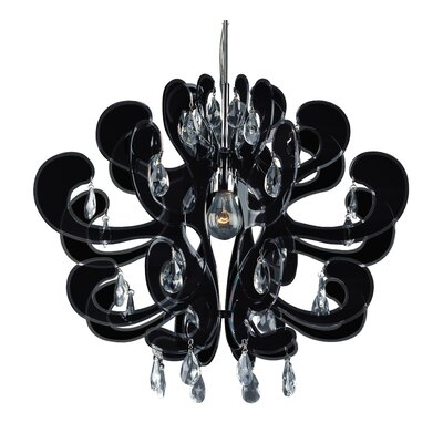 ET2 Carnivale 1 Light Crystal Chandelier