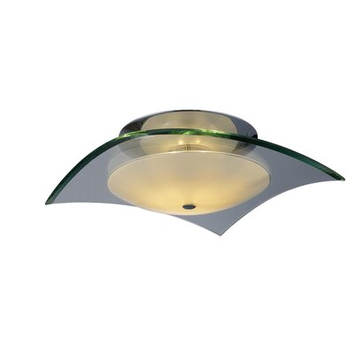 ET2 Curva Square Semi Flush Mount