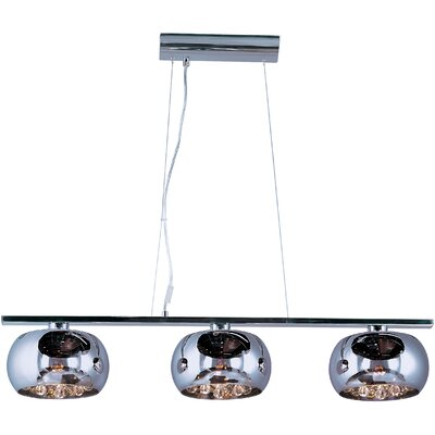 ET2 Sense 3 Light Kitchen Island Pendant