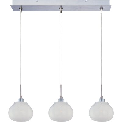 "ET2 Minx 3.25"" 3 Light RapidJack Linear Pendant"