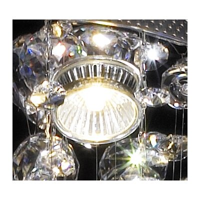 ET2 Cascada 6 Light Semi Flush Mount