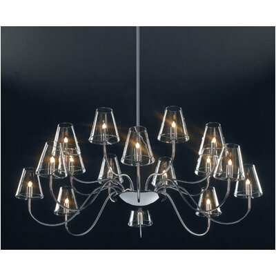 ET2 Chic 16 Light Chandelier