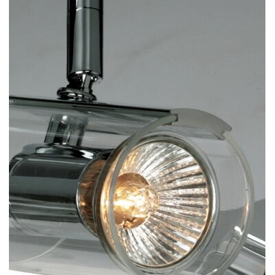 ET2 Flash Directional 4 Light Semi Flush Mount