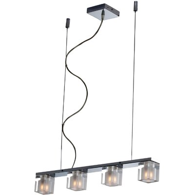 Blocs 4 Light Linear Pendant