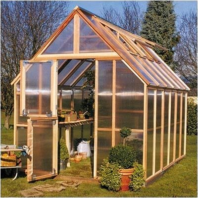 Sunshine Gardenhouse Mt. Rainier GardenHouse Polycarbonate Greenhouse