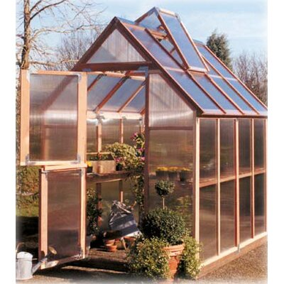 Sunshine Gardenhouse 4' Extension Kit for  Mt. Hood 6' x 8' GardenHouse