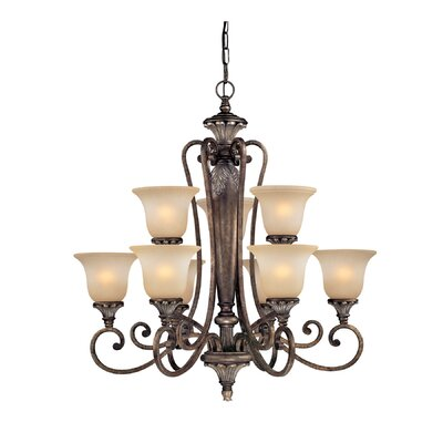 Dolan Designs Greta 9 Light Chandelier