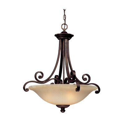 Dolan Designs Brittany 3 Light Inverted Pendant