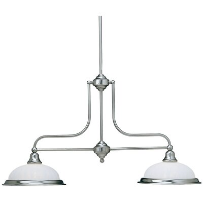 Dolan Designs Richland 2 Light Kitchen Island Foyer Pendant
