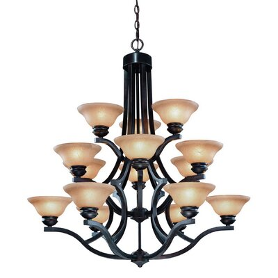 Garrison 15 Light Chandelier